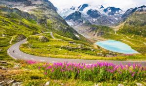 Eine Töfftour in die Berge